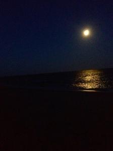 Praia do Espelho, BA. Lua Cheia. 20h15