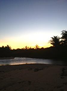 Por do Sol. Praia do Espelho, BA. 18H