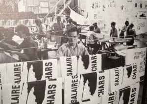 Atelier populaire, mai 68