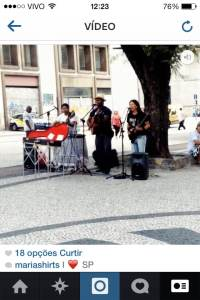 Cantores interpretam Buena Vista Social Club na Praça do Patriarca